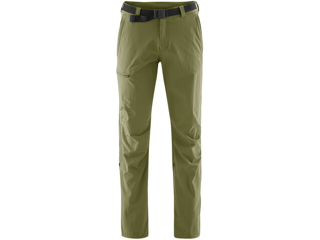 Maier Sports Nil Pantalon retroussable Homme, winter moss